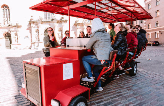 Riga Beer Bike Activity | ExperienceBaltics.com