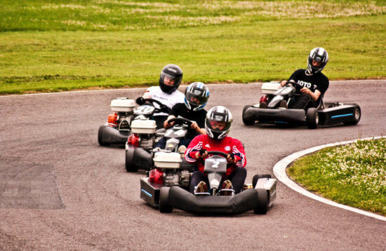 Riga Outdoor Karting Activity | ExperienceBaltics.com